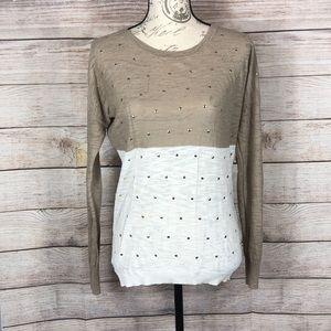 Express Lightweight Long Sleeve Sweater